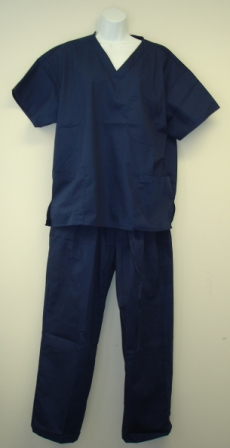 Scrub Set Navy Blue