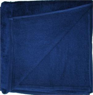 Wholesale Beach Towels Beach Towels Velour 30x60 Navy Blue