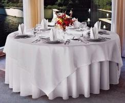 Table Cloths Spun Polyester White 120 Quot Round Prices Per
