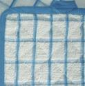 Kitchen Towels COMBO BLUE WHT