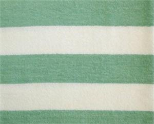 Beach Towels 36x68 Cabana Mint Green White Stripes