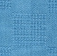 Thermal Cotton Blanket BLUE