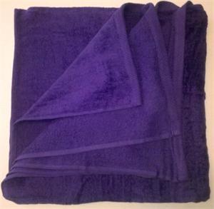 Wholesale Beach Towels Beach Towels Velour 30x60 Purple