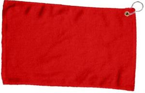 Wholesale Red Golf Towels - 15x25