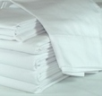 Wholesale Twin Fitted Sheets in Bulk White 36x80 T-180 Made in USA
