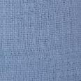 Cotton Thermal Blanket Snagfree Twin Full Blue 74x108