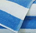 Beach Towels CABANA 30x60 Blue/ White Stripes