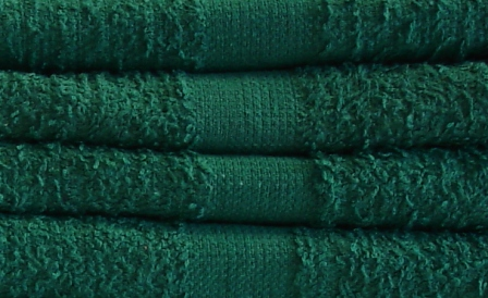 Wholesale Green Hand Towels In Bulk 16x26