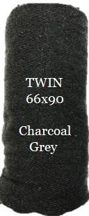 Wholesale Blanket in Bulk Twin Gray